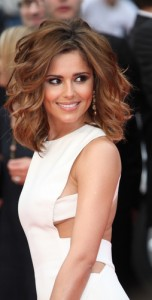 Cheryl Cole's gorgeous red wavy hair