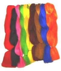 Kanekalon Jumbo Colors