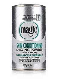 Magic Shaving Powder-Extra Smooth  (Platimum)