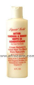 Liquid Gold After Bonding & Braids Leave In Conditioner
