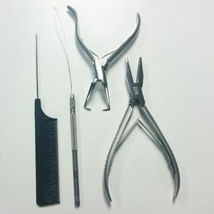 Zen I-tip (stick-tip) applicator kit for prebonded hair (Loop tool)