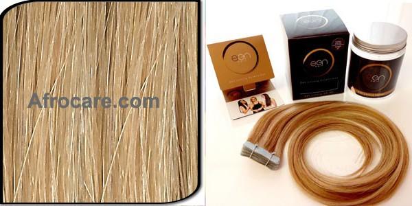 Zen Luxury, Pretaped Hair extensions 22 inch Colour #16