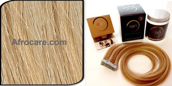 Zen Luxury, Pretaped Hair extensions 22 inch Colour #24