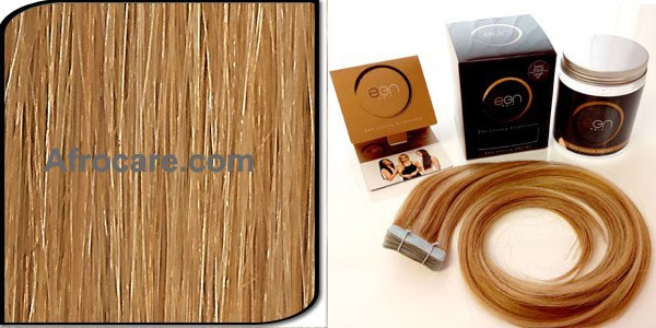 Zen Luxury, Pretaped Hair extensions 22 inch Colour #27