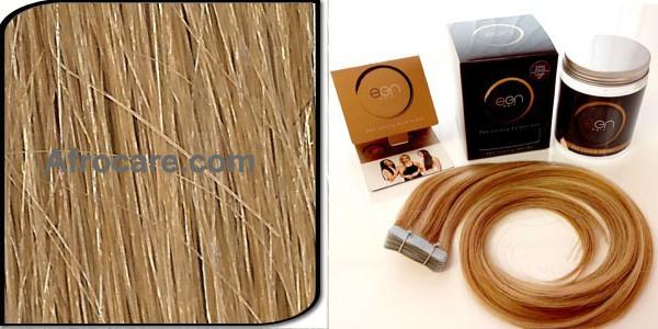 Zen Luxury, Pretaped Hair extensions 22 inch Colour #27S