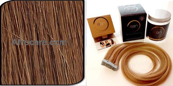 Zen Luxury, Pretaped Hair extensions 22 inch Colour #30