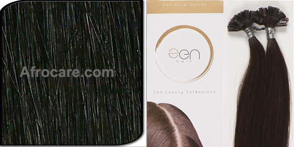 Zen Pure U-Tip Hair Extensions 18 inch Colour #1