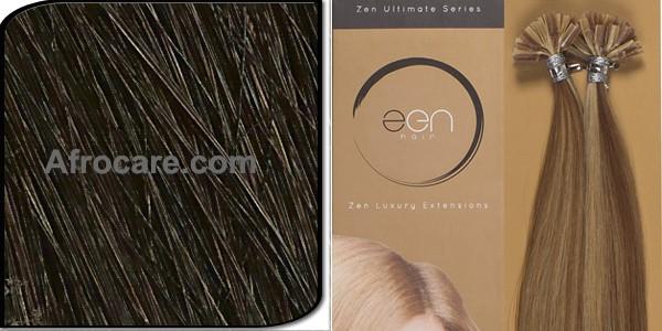 Zen Ultimate U-Tip Hair Extensions 18 inch Colour #1B
