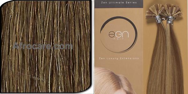 Zen Ultimate U-Tip Hair Extensions 14 inch Colour #8