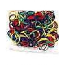250 Rubber Bands Assorted Colors