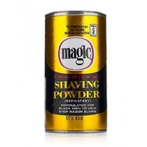 Magic Fragrant Shaving Powder - Gold/Black Can