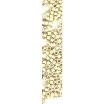 100x Light Blonde MicroRings / Linkies