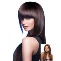 Bold & Blunt Clip In Hair Fringe