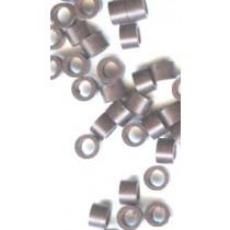 100x Brown MicroRings / Linkies