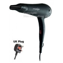 Professional Ceramic Hair Dryer with Nozzle And Diffuser