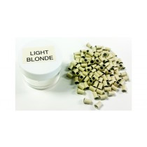Zen Hair Extension  Silicon Lined Microtubes-Light Blonde x 100  (Linkies)