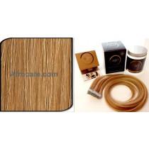 Zen Luxury, Pretaped Hair extensions 22 inch Colour #27