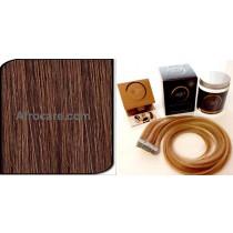 Zen Luxury, Pretaped Hair extensions 22 inch Colour #33