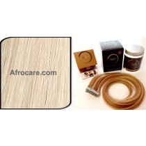 Zen Luxury, Pretaped Hair extensions 22 inch Colour #60