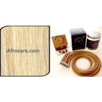 Zen Luxury, Pretaped Hair extensions 22 inch Colour #613