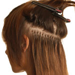 Cinderella Hair Application Step 3