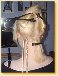 Step by step guide to applying synthetic dreadlock hair extensions you have now applied your dread extension pmusecretfo Images
